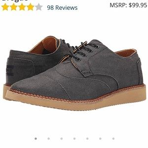 Toms Brogue Wing Tipped Shoes